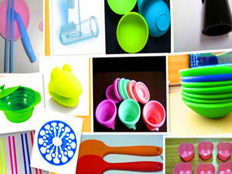 Daily household applications of silicone kitchen supplies