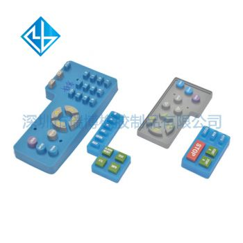 Machinery and equipment silicone key | industrial equipment control silica gel